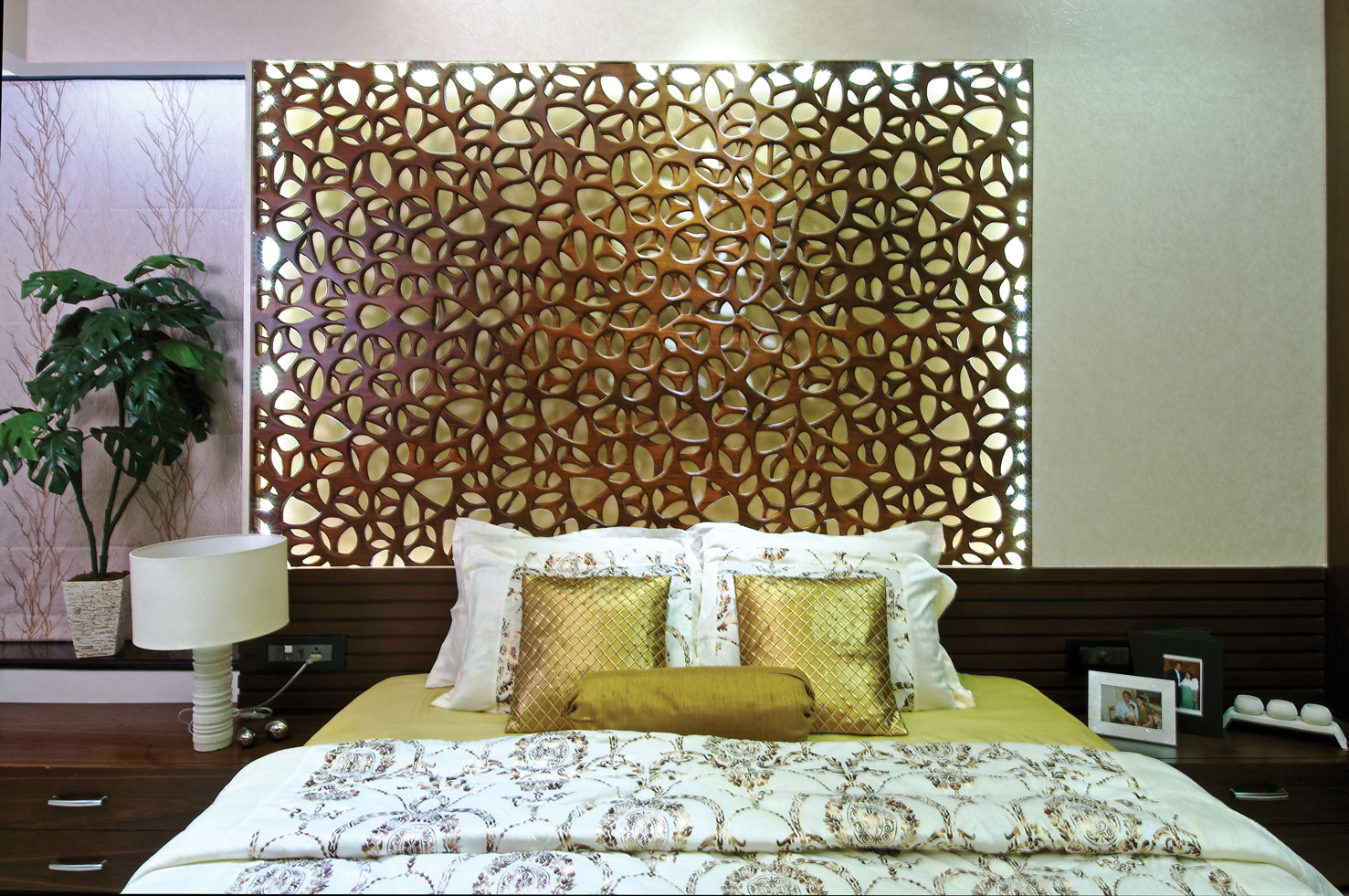 Decorative Bed Jali My Wall Panels