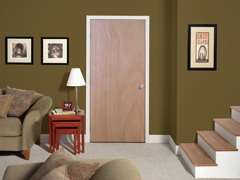 on flush door jali design