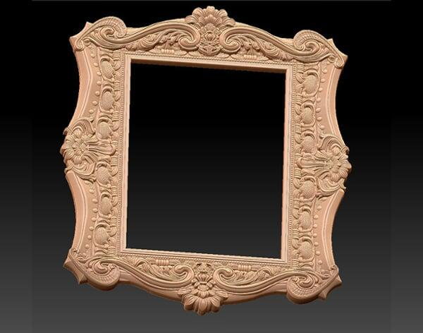 3D Photo & Mirror Frames SB3DPMF085