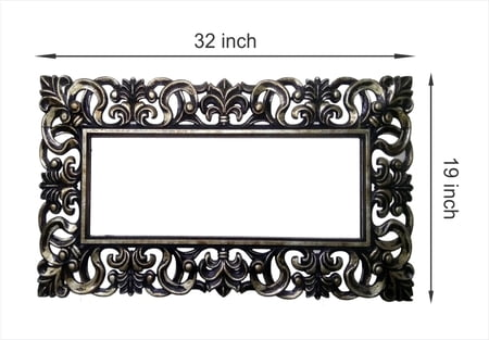 3D Painted Mirror Frame_3219