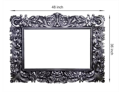 3D Painted Mirror Frame