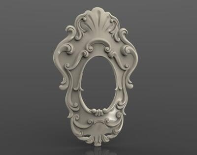 3D Photo & Mirror Frames SB3DPMF003