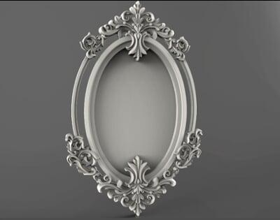 3D Photo & Mirror Frames SB3DPMF007
