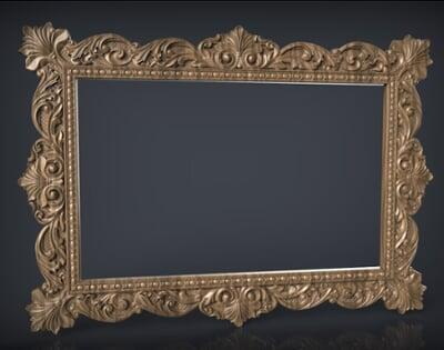 3D Photo & Mirror Frames SB3DPMF009