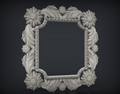 3D Photo & Mirror Frames SB3DPMF017