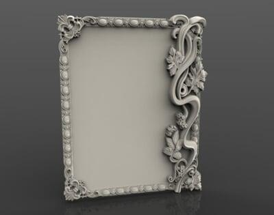 3D Photo & Mirror Frames SB3DPMF021