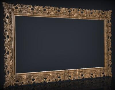 3D Photo & Mirror Frames SB3DPMF029