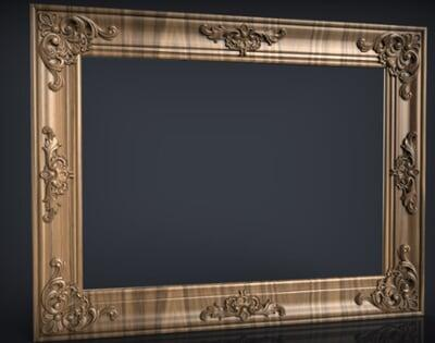 3D Photo & Mirror Frames SB3DPMF035