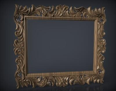 3D Photo & Mirror Frames SB3DPMF051