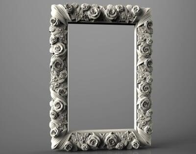 3D Photo & Mirror Frames SB3DPMF064
