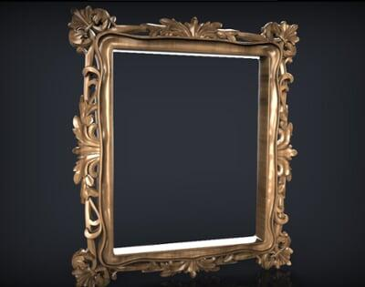 3D Photo & Mirror Frames SB3DPMF073