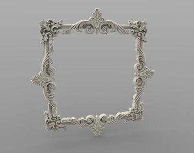 3D Photo & Mirror Frames SB3DPMF074