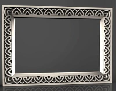 3D Photo & Mirror Frames SB3DPMF076