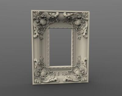 3D Photo & Mirror Frames SB3DPMF084