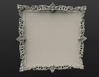 3D Photo & Mirror Frames SB3DPMF089