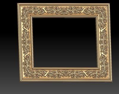 3D Photo & Mirror Frames SB3DPMF092